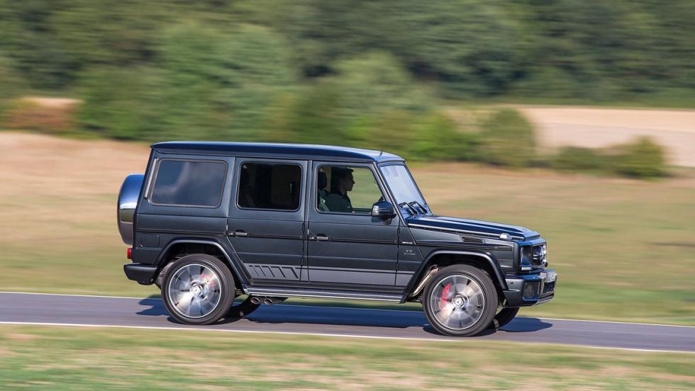 Cinco mejores coches para atropellar a tu jefe: Mercedes-AMG G 63