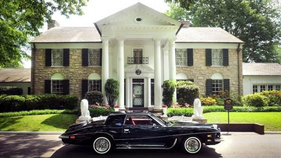 Un espectacular Stutz Blackhawk de Elvis