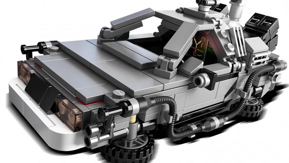 DeLorean DMC-12 de Regreso al futuro