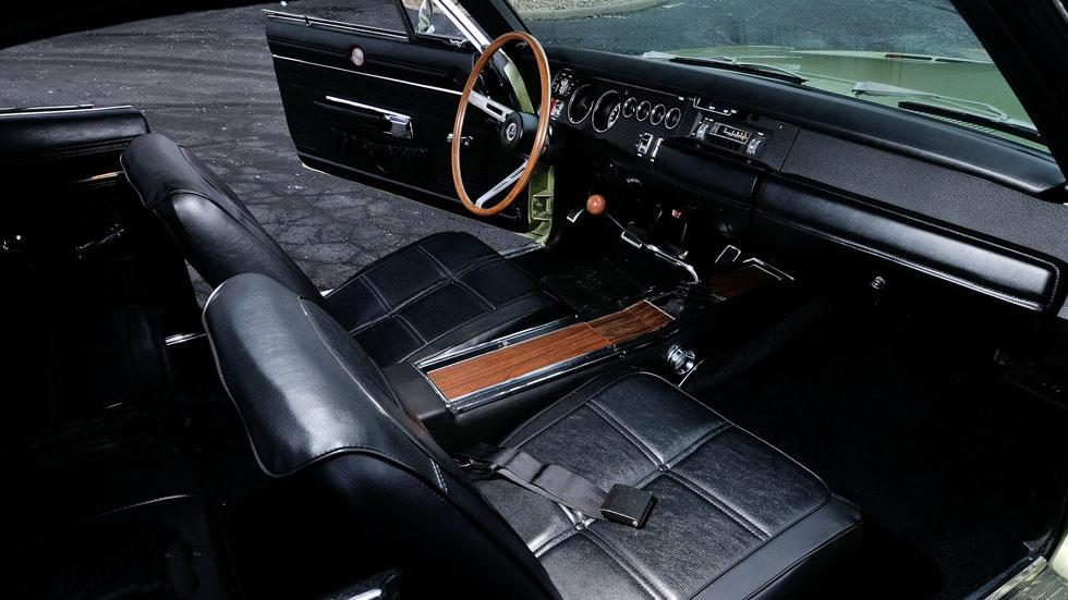 Dodge Charger interior