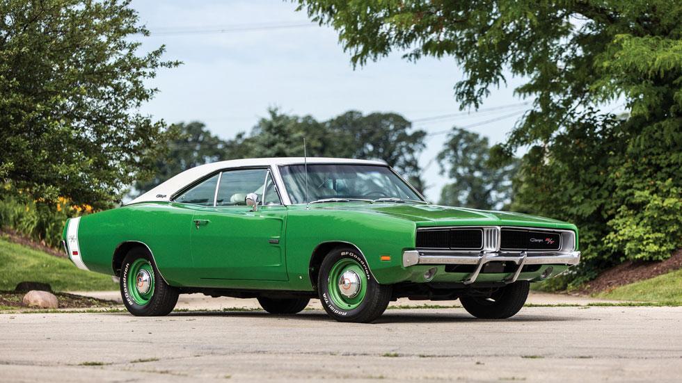 Dodge Charger verde 1969 Hemi