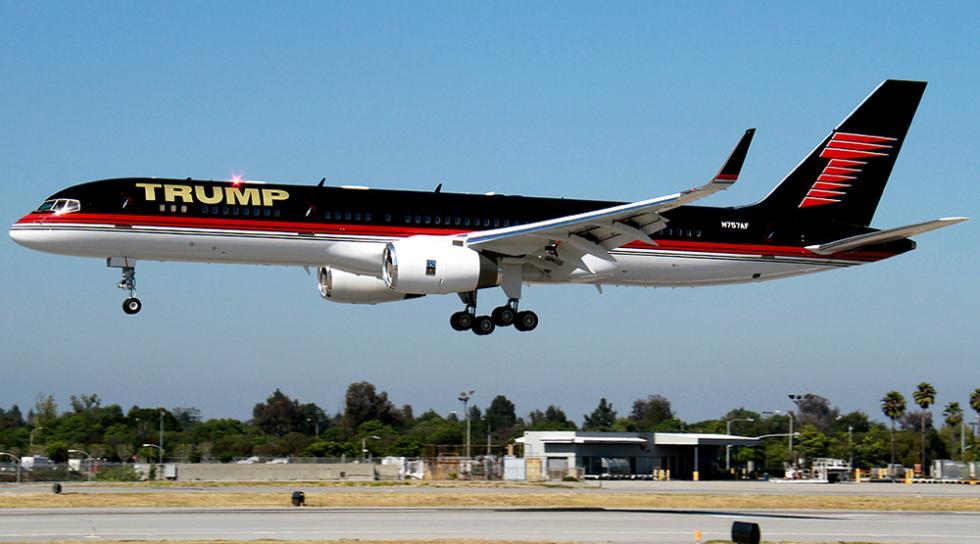 Donald Trump - Boeing 757