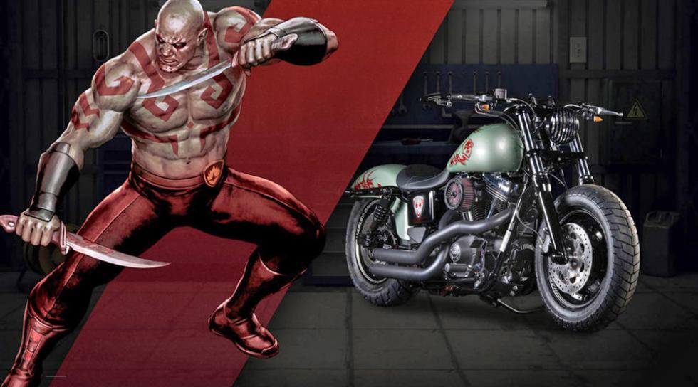 Drax - Harley-Davidson Fat Bob