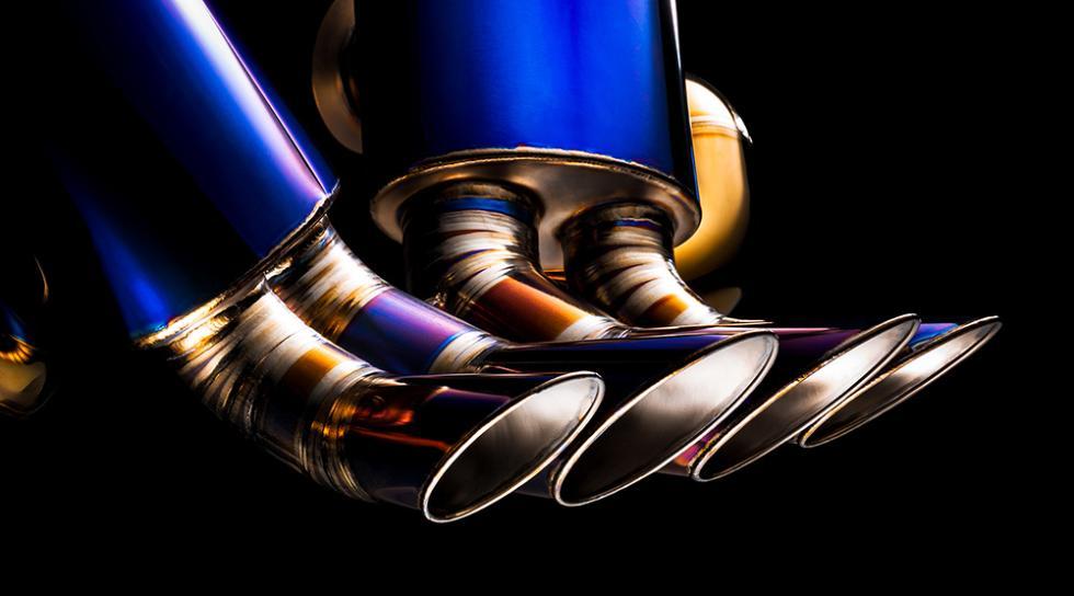 El escape diseñado por Valentino Balboni para el Lamborghini Aventador SV
