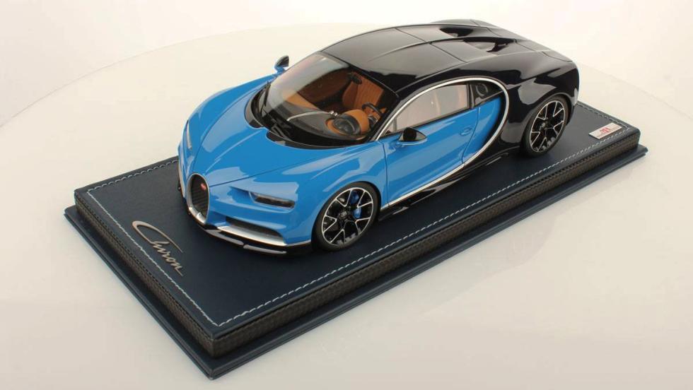 La espectacular maqueta del Bugatti Chiron