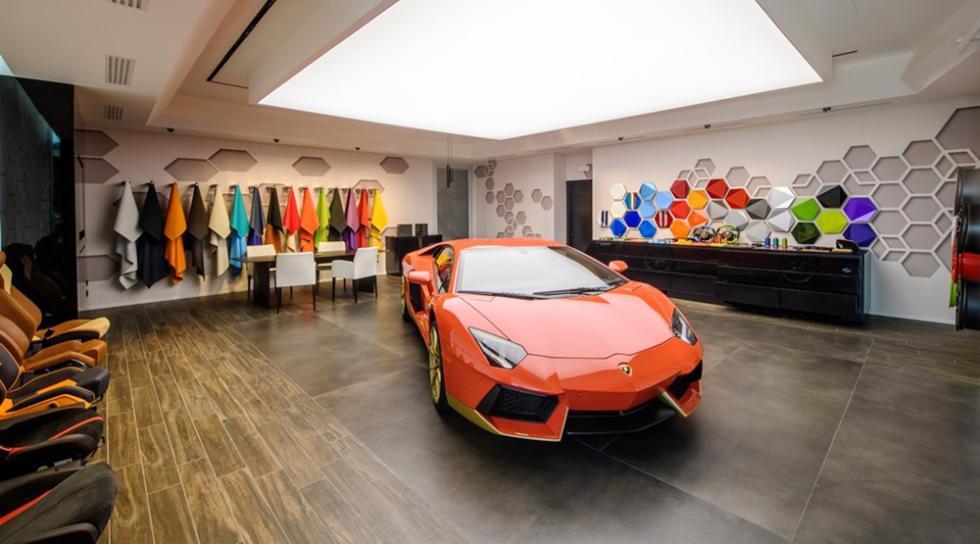 Estudio Ad Personam de Lamborghini