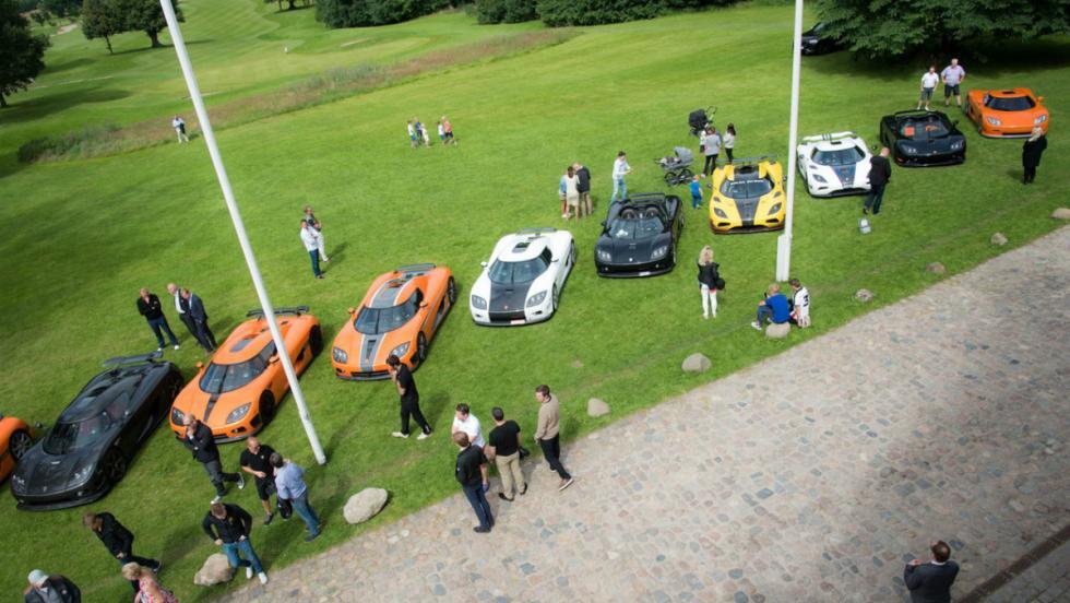 Evento Koenigsegg
