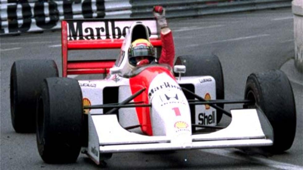 Los f1 de Ayrton Senna
