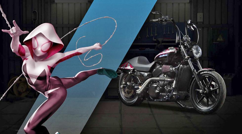 Gwen Stacy - Harley-Davidson Street 500