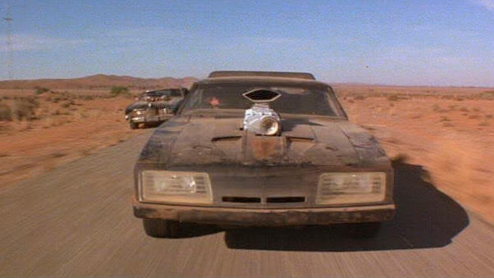 Interceptor Mad Max frontal cine película