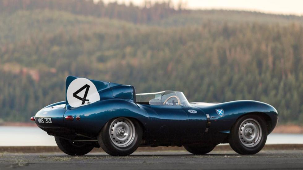 Jaguar D-Type Roadster de 1955 - 21.780.000 dólares
