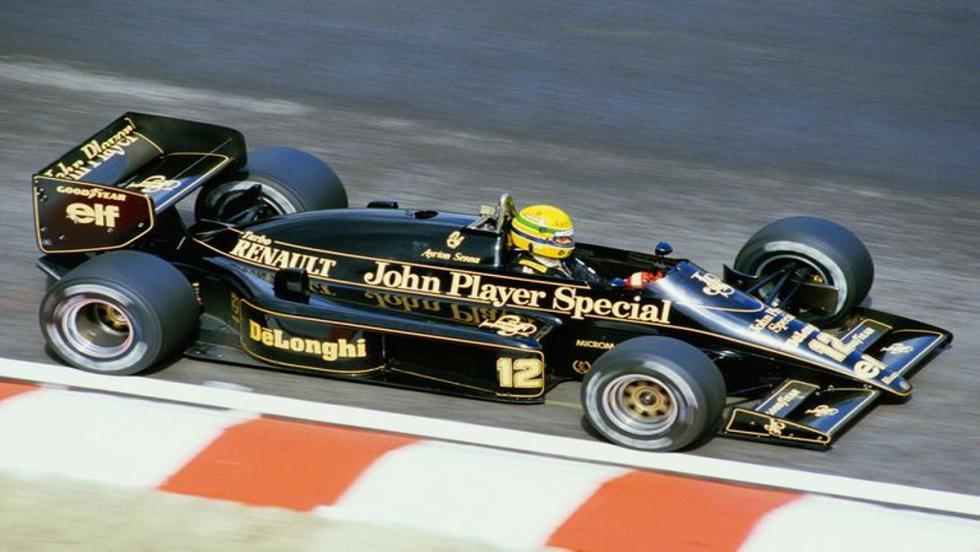 Lotus 98T: La útlima belleza negra y dorada