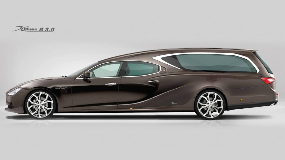 Maserati Ghibli fúnebre