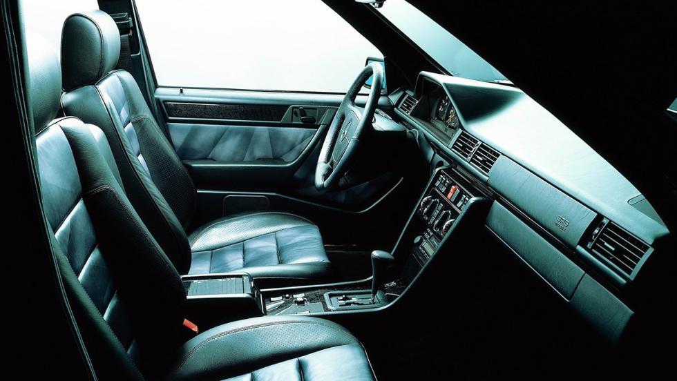 El Mercedes 500 E, creado en colaboración con Porsche
