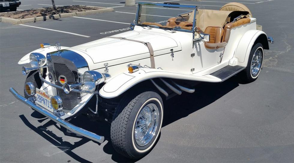 Mercedes-Benz SSK Replica Convertible de 1929 - 6.600 dólares