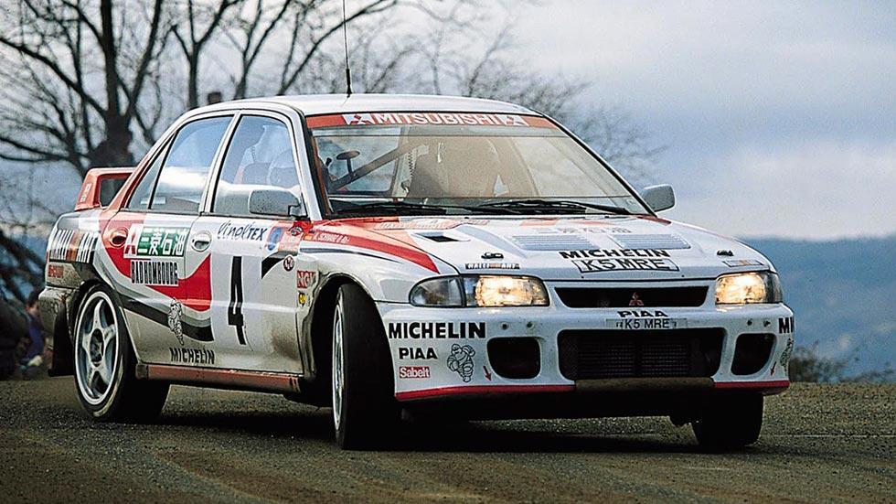 Mitsubishi Lancer EVO I deportivo rally clásico motorsport sedán