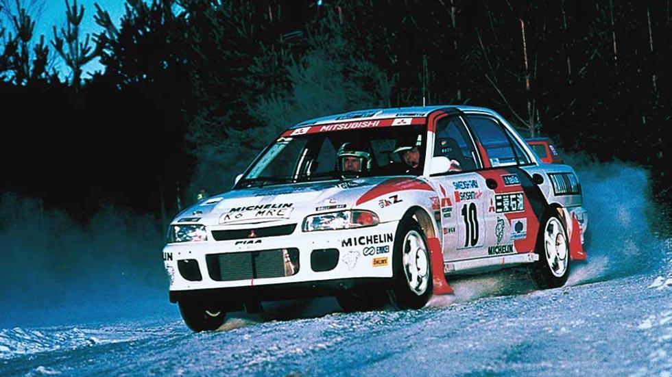 Mitsubishi Lancer EVO II deportivo rally clásico motorsport sedán
