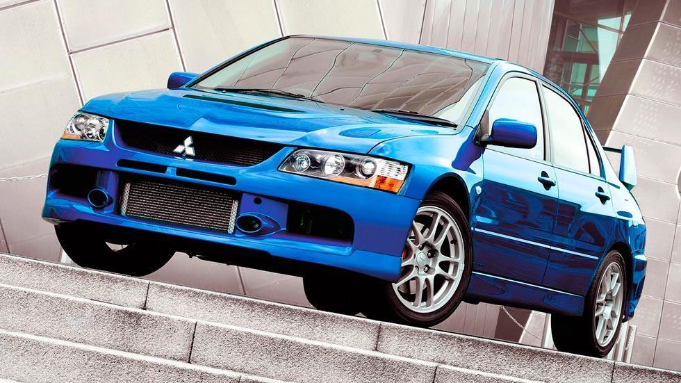 Mitsubishi Lancer EVO IX deportivo rally clásico motorsport sedán
