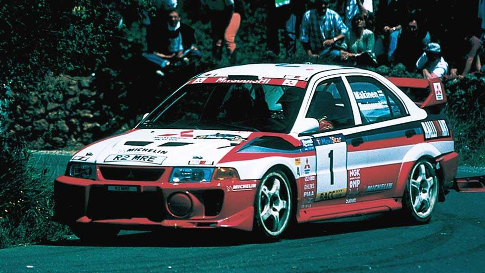 Mitsubishi Lancer EVO V deportivo rally clásico motorsport sedán