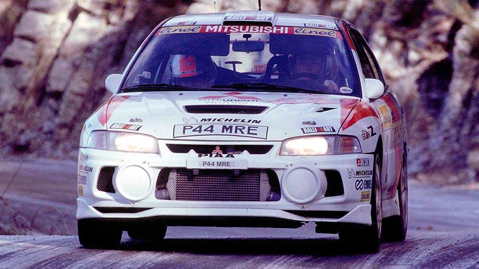 Mitsubishi Lancer EVO IV deportivo rally clásico motorsport sedán