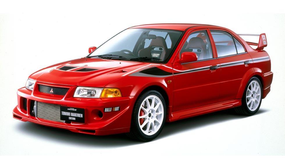 Mitsubishi Lancer EVO VI deportivo rally clásico motorsport sedán