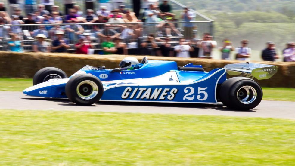 Los monoplazas más sexys de la F1: el Ligier-Ford
