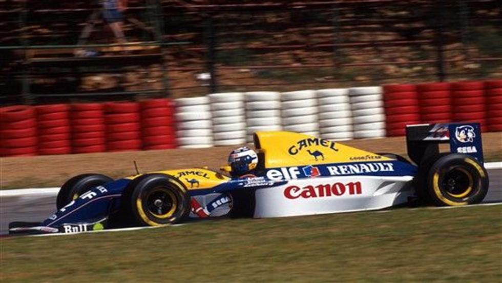 Los monoplazas más sexys de la F1: Williams FW15C