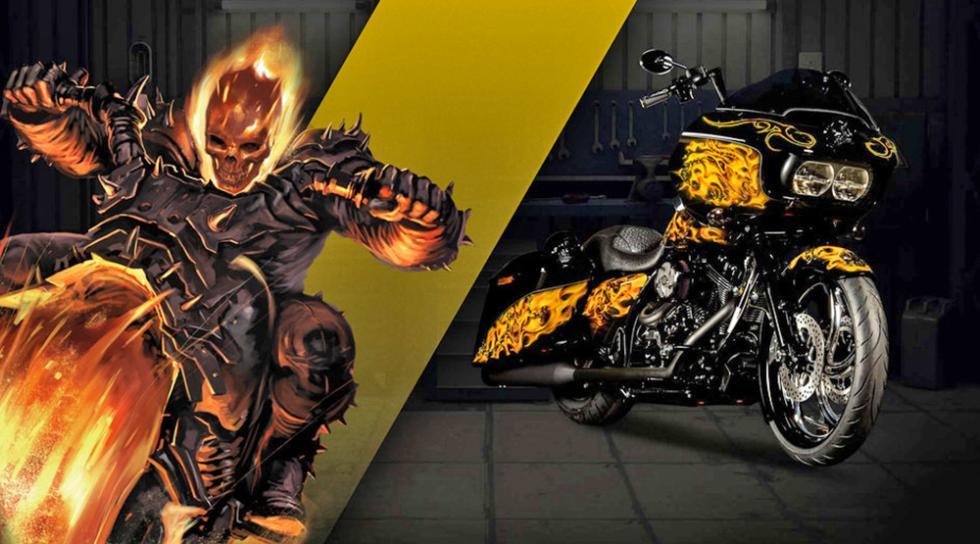 El Motorista Fantasma - Harley-Davidson Road Glide Special