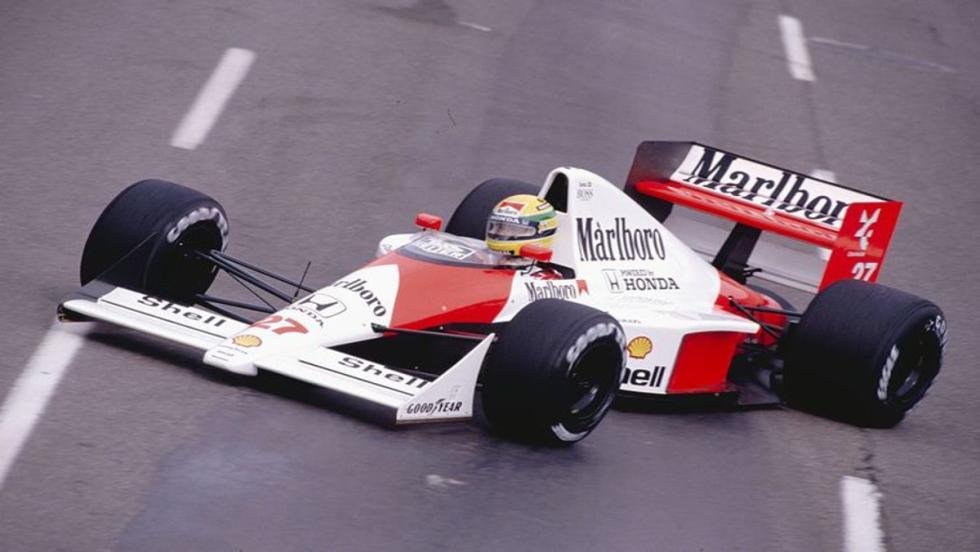 El MP4-5B: El monoplaza del bicampeonato de Senna