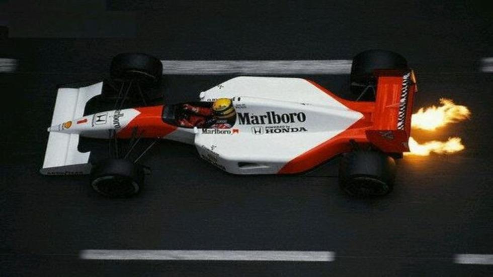 El MP4-6: El bólido del tercer título de Senna
