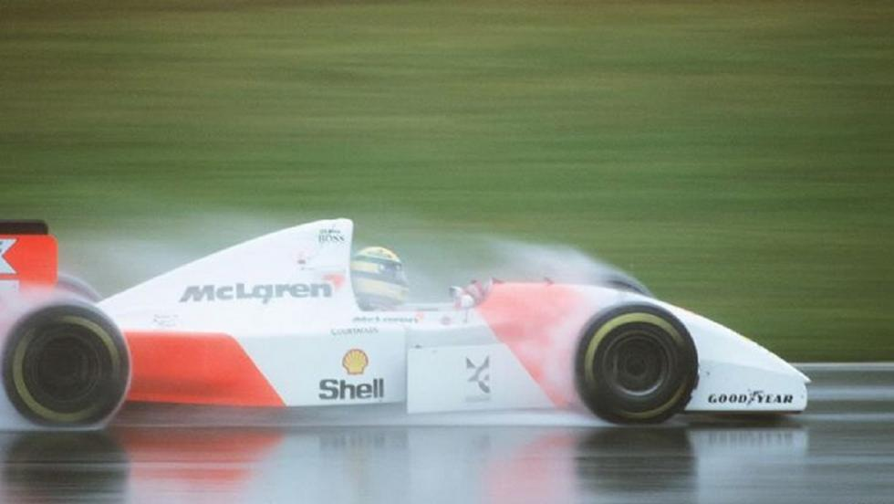 El MP4-8: El último McLaren del tricampeón carioca