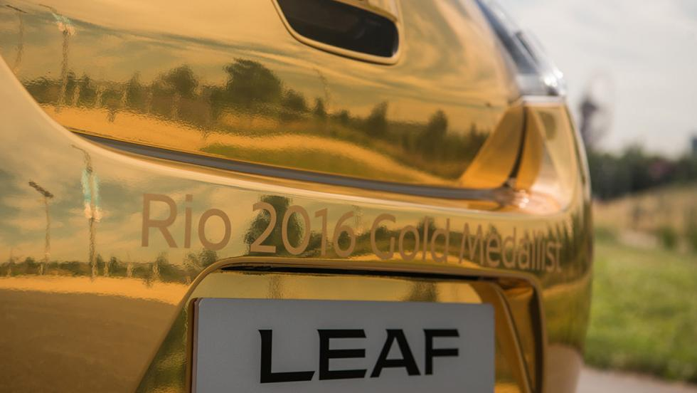 El Nissan Leaf de oro para los mejores atletas de Río