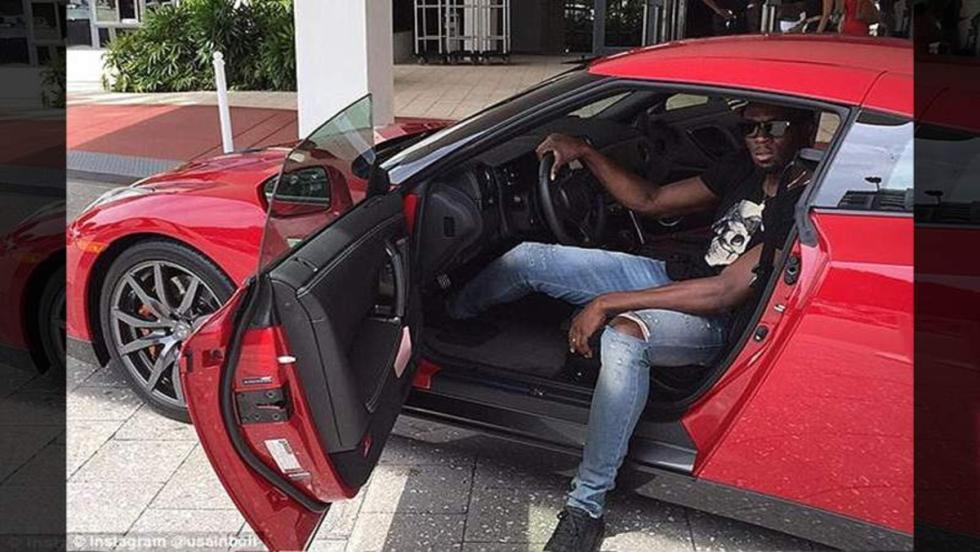 El Nissan MYR15 GTR de Usain Bolt