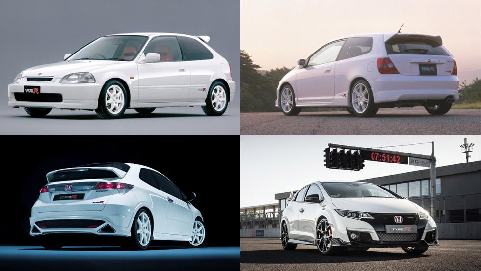 El nuevo Civic Type R es la cuarta generación del mito