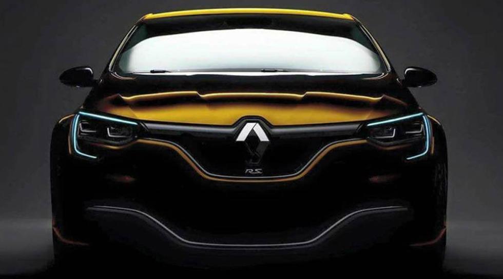 El nuevo Renault Megane RS podría tener este aspecto