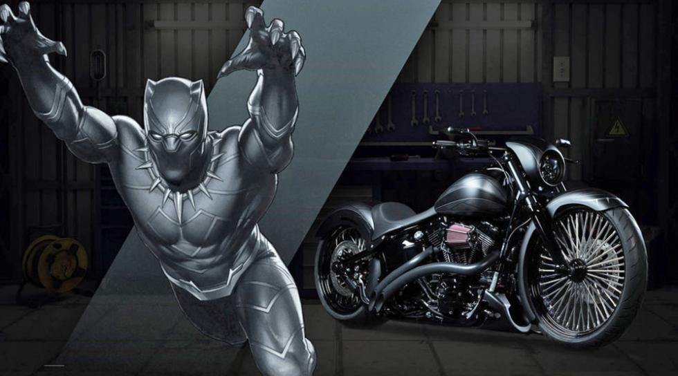 Pantera Negra - Harley-Davidson Breakout