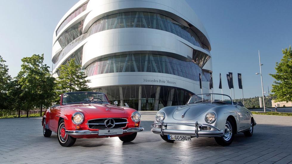 Porsche y Mercedes se alían para vender entradas en sus museos