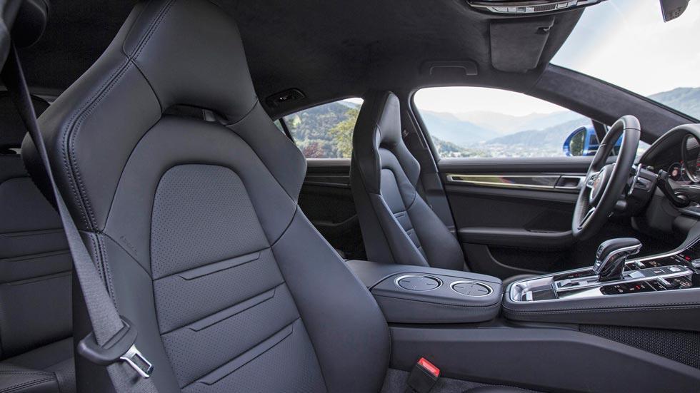 Prueba Porsche Panamera Turbo asientos lujo cuero interior