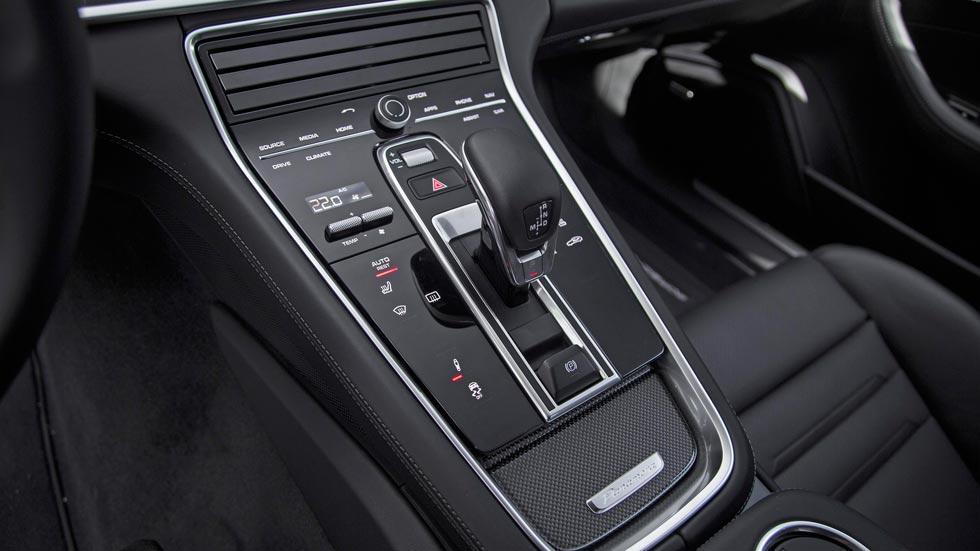 Prueba Porsche Panamera Turbo cambio PDK lujo interior