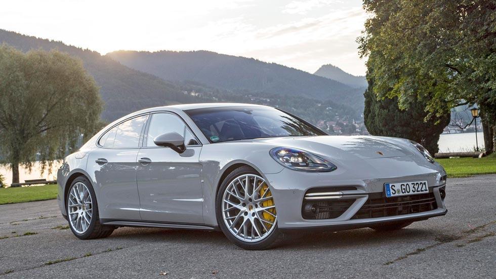 Prueba Porsche Panamera Turbo gris prueba deportivo lujo berlina