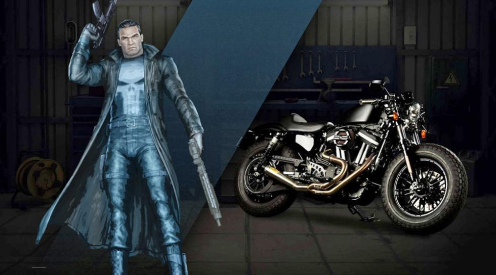 The Punisher - Harley-Davidson Forty-Eight