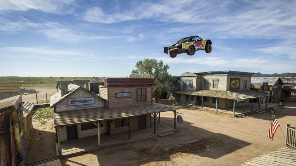 Récord de salto de camión