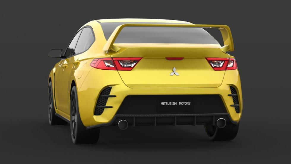 Render Mitsubishi Evo (IV)