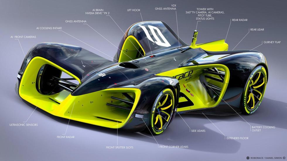 Así serán los coches de carreras del futuro