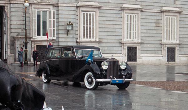 Rolls Royce Phantom IV Rey lujo España historia