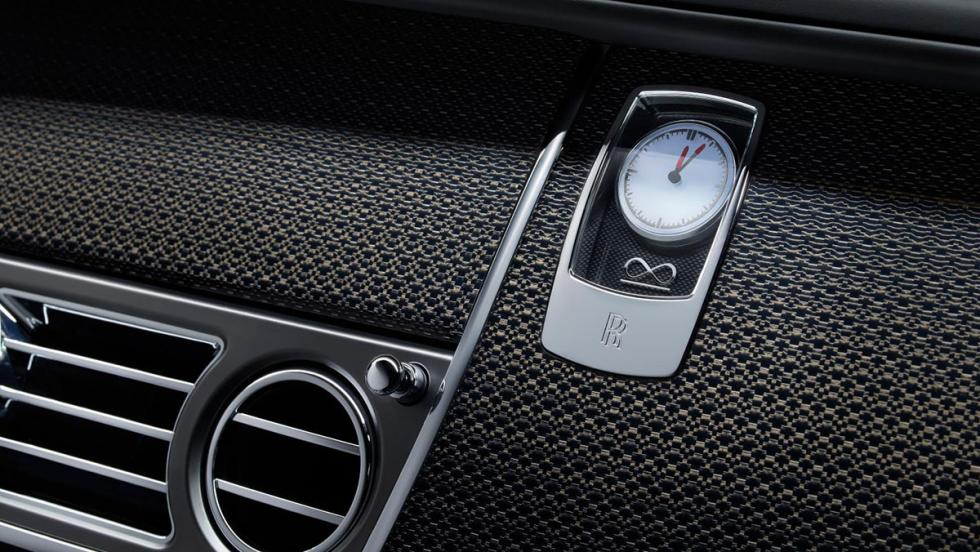 Rolls-Royce Wraith Black Badge: al detalle