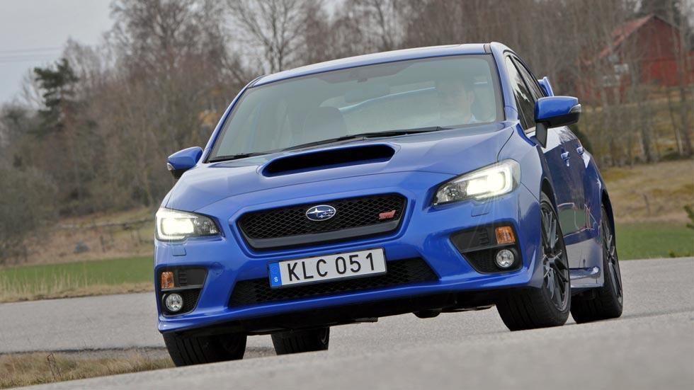 Subaru WRX STi frontal radical deportivo racing