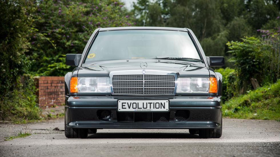 A subasta un Mercedes 190 E Evo II con menos de 1.500 km