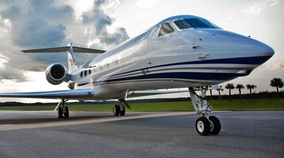 Tiger Woods - Gulfstream G550