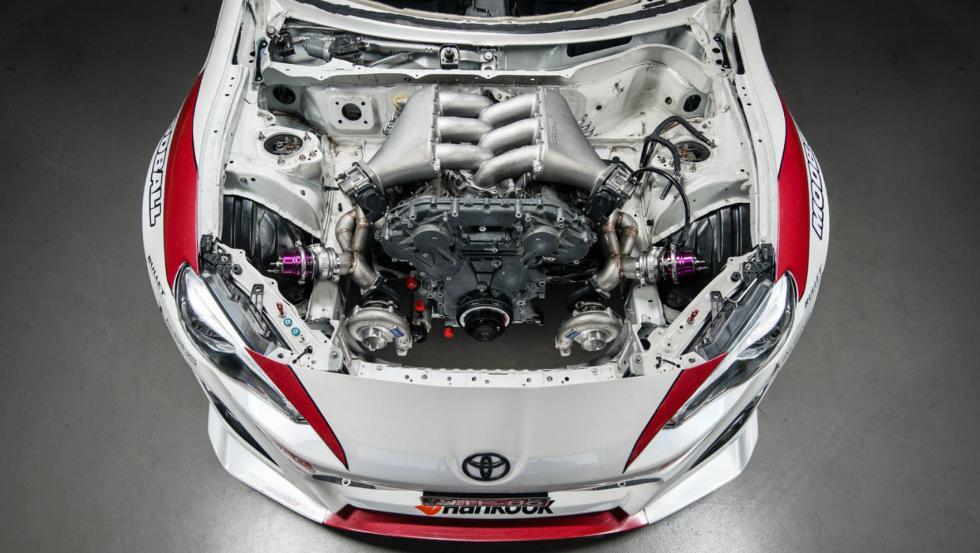 Toyota GT86 con motor de un Nissan GT-R